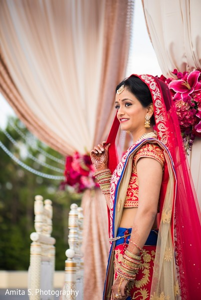 bridal portrait,indian bride