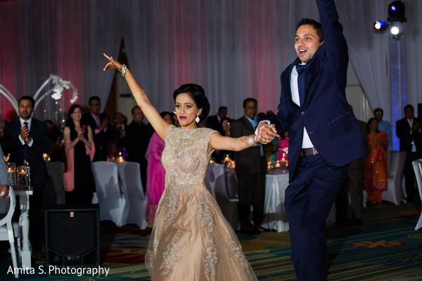Reception in Orlando, FL Indian Wedding by Amita S. Photography