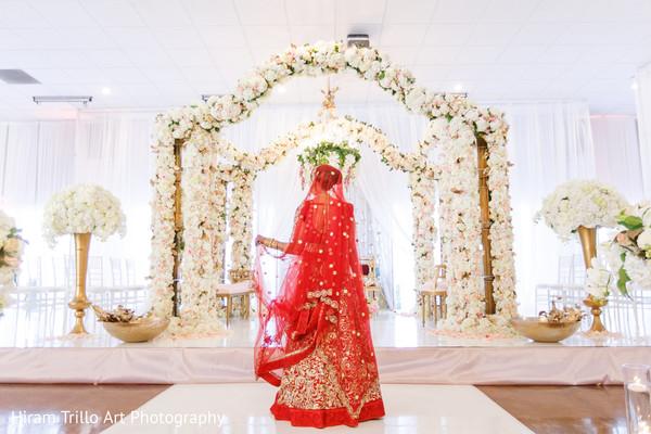 Indian bride in El Paso, TX Indian Wedding by Hiram Trillo Art Photography