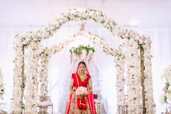 Indian bride in El Paso, TX Indian Wedding by Hiram Trillo Art Photography