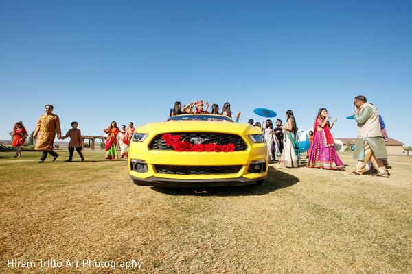Baraat in El Paso, TX Indian Wedding by Hiram Trillo Art Photography