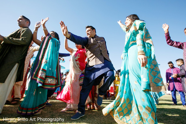 Baraat in El Paso, TX Indian Wedding by Hiram Trillo Art Photography