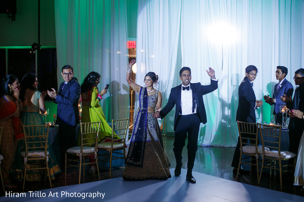 Indian wedding reception in El Paso, TX Indian Wedding by Hiram Trillo Art Photography