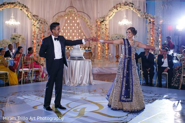 Indian wedding reception in El Paso, TX Indian Wedding by Hiram Trillo Art Photography
