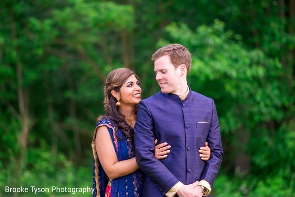 Pre-Wedding Portrait in Beltsville, MD Indian Fusion Wedding by Brooke Tyson Photography