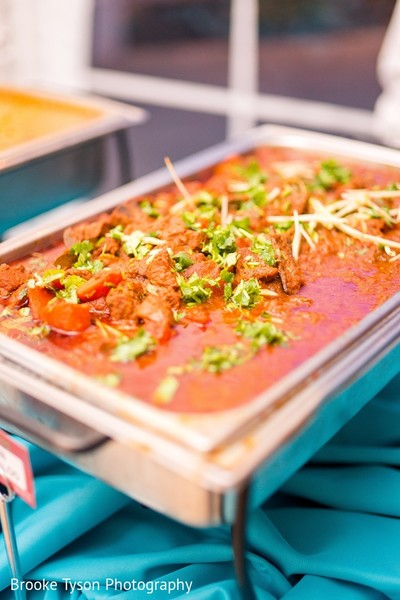 Catering in Beltsville, MD Indian Fusion Wedding by Brooke Tyson Photography