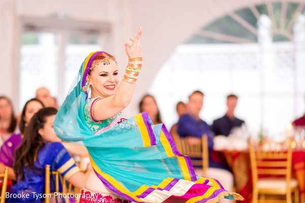 Sangeet in Beltsville, MD Indian Fusion Wedding by Brooke Tyson Photography