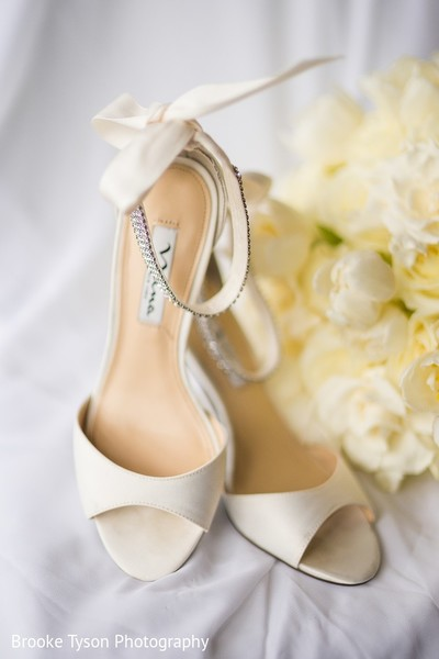 Shoes in Beltsville, MD Indian Fusion Wedding by Brooke Tyson Photography