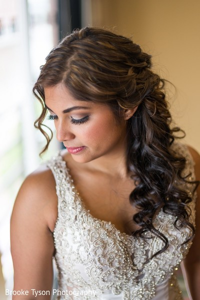 Getting Ready in Beltsville, MD Indian Fusion Wedding by Brooke Tyson Photography