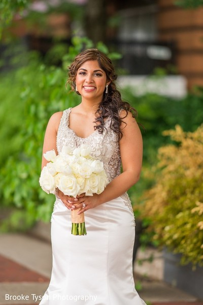Bridal Portrait in Beltsville, MD Indian Fusion Wedding by Brooke Tyson Photography