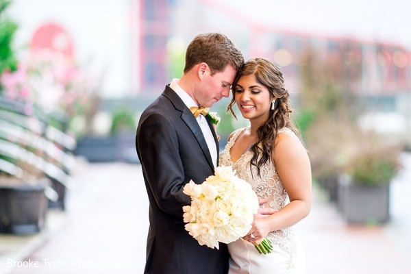 Wedding Portraits in Beltsville, MD Indian Fusion Wedding by Brooke Tyson Photography
