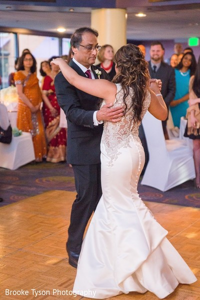Reception in Beltsville, MD Indian Fusion Wedding by Brooke Tyson Photography
