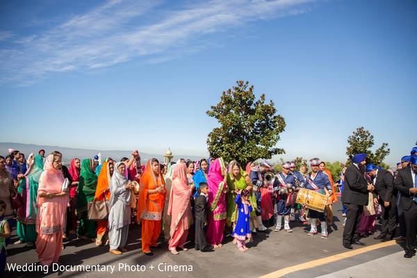 Baraat in San Jose, CA Sikh Wedding by Wedding Documentary Photo + Cinema