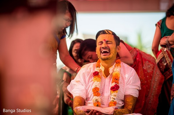 Pre-Wedding Ceremony in Gujarat, India Hindu Wedding by Banga Studios