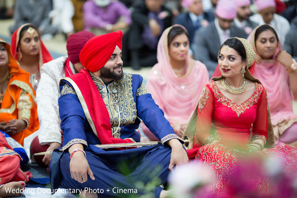 Sikh wedding ceremony in San Jose, CA Sikh Wedding by Wedding Documentary Photo + Cinema