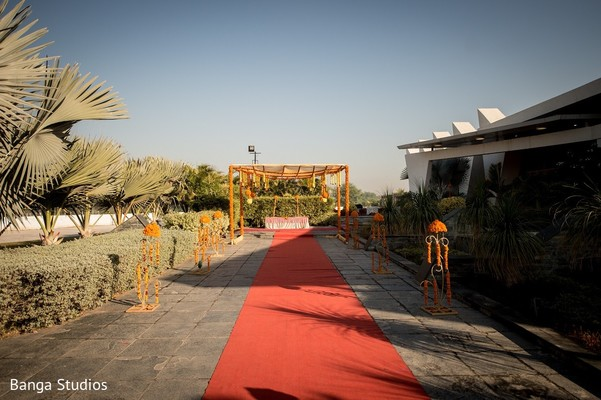 Haldi Venue in Gujarat, India Hindu Wedding by Banga Studios