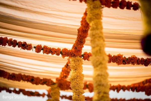 Haldi Decor in Gujarat, India Hindu Wedding by Banga Studios