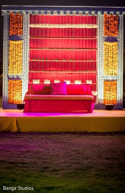 Pre-Wedding Decor in Gujarat, India Hindu Wedding by Banga Studios