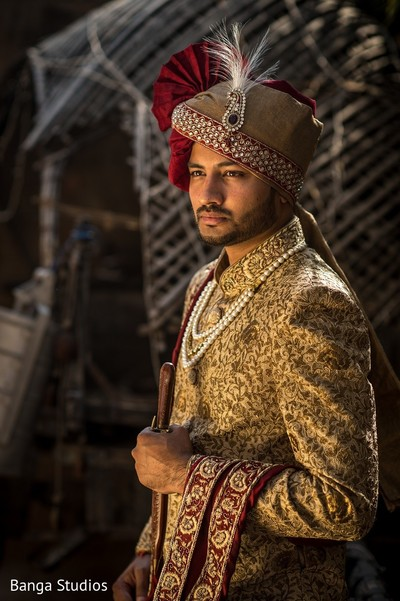 Groom Fashion in Gujarat, India Hindu Wedding by Banga Studios