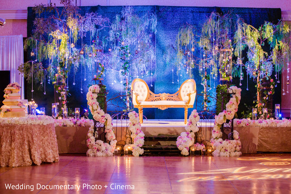 Sweetheart stage in San Jose, CA Sikh Wedding by Wedding Documentary Photo + Cinema