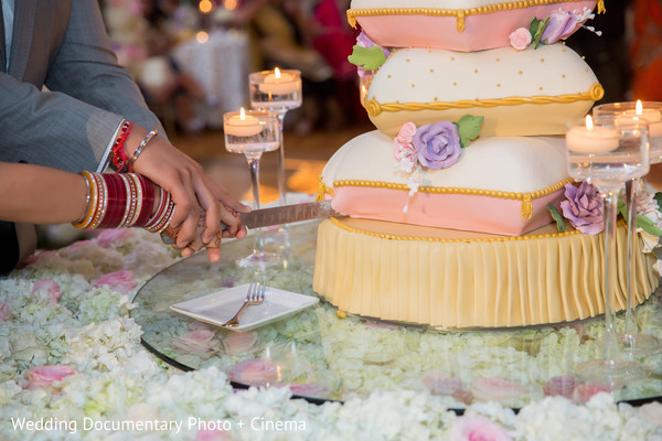 Indian wedding reception in San Jose, CA Sikh Wedding by Wedding Documentary Photo + Cinema