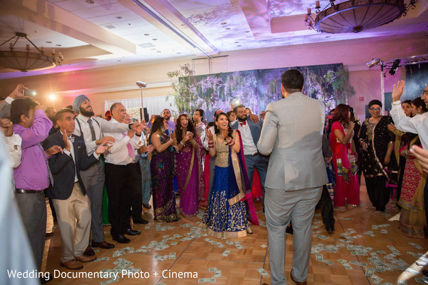 Indian wedding reception in San Jose, CA Sikh Wedding by Wedding Documentary Photo + Cinema