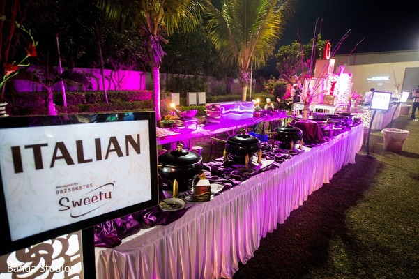 Catering in Gujarat, India Hindu Wedding by Banga Studios