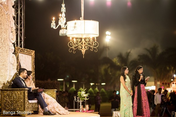 Reception in Gujarat, India Hindu Wedding by Banga Studios