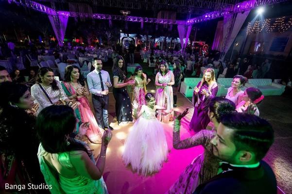 Reception in Gujarat, India Hindu Wedding by Banga Studios