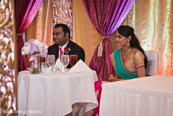 Reception in New Orleans, LA Indian Wedding by Black Indigo Studio