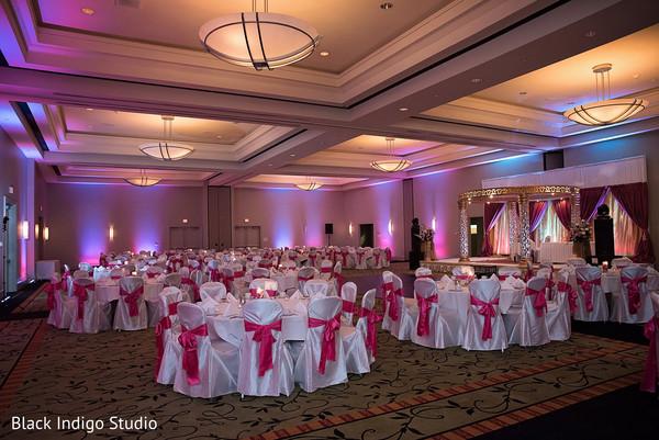 Reception in New Orleans, LA Indian Wedding by Black Indigo Studio