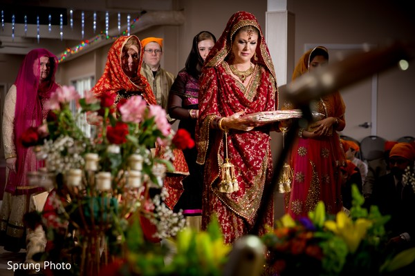 Sikh fusion wedding in Chicago, IL Indian Fusion Wedding by Sprung Photo