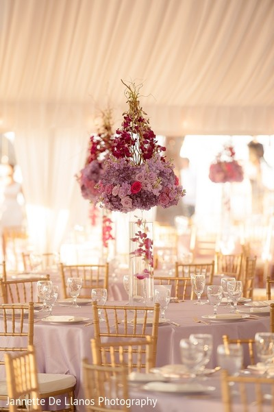Floral & Decor in Key Largo, FL Indian Fusion Wedding by Jannette De Llanos Photography