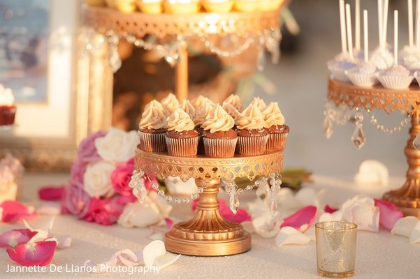Cakes & Treats in Key Largo, FL Indian Fusion Wedding by Jannette De Llanos Photography