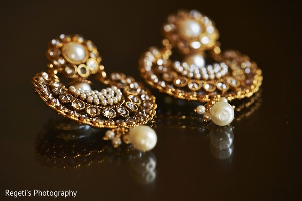 Bridal Jewelry in Leesburg, VA Indian Wedding by Regeti's Photography