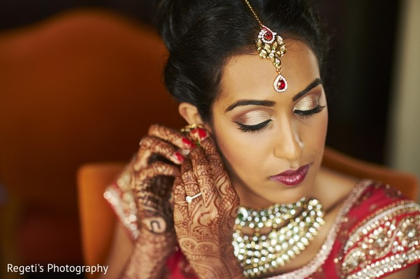 getting ready,indian bride getting ready,makeup