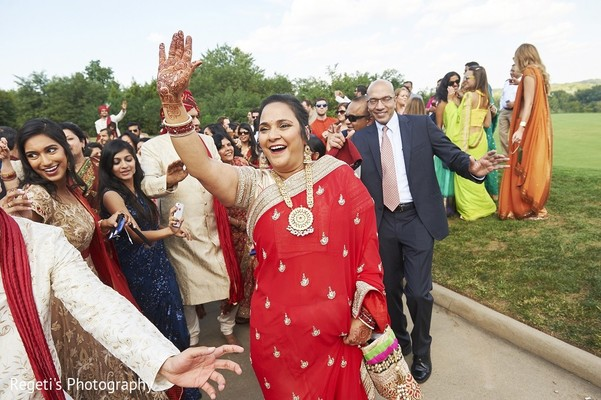 Baraat in Leesburg, VA Indian Wedding by Regeti's Photography
