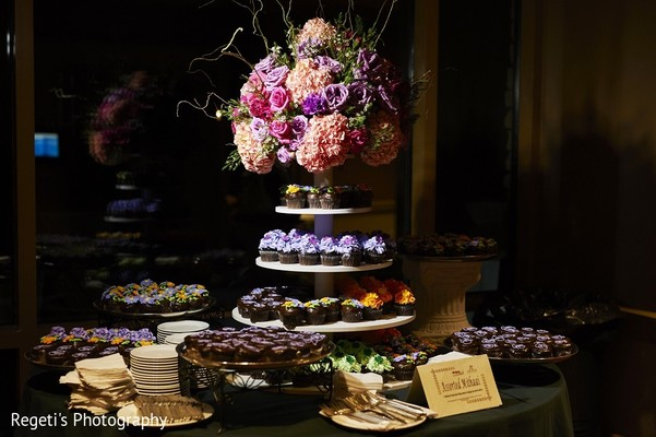 Dessert Table in Leesburg, VA Indian Wedding by Regeti's Photography