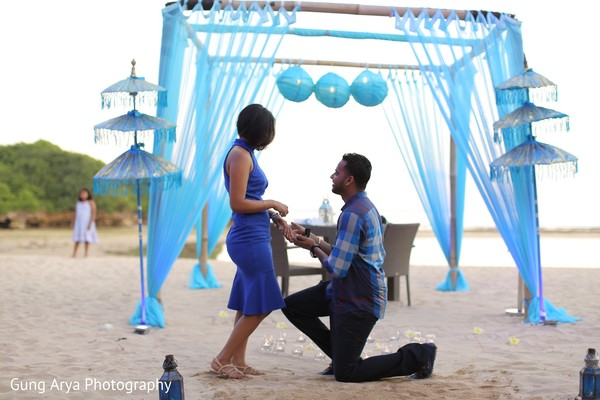 Engagement Portrait in Bali, Indonesia Indian Engagement by Gung Arya Photography