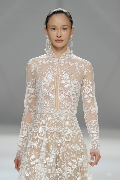 naeem khan,naeem khan spring 2017 bridal collection