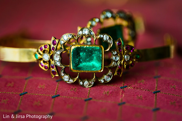 Indian bridal jewelry in Los Angeles, CA Indian Wedding by Lin & Jirsa Photography