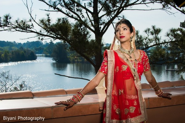 Bridal Portrait in Montgomery, TX  Indian Wedding by Biyani Photography