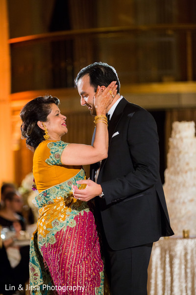 Indian wedding reception in Los Angeles, CA Indian Wedding by Lin & Jirsa Photography