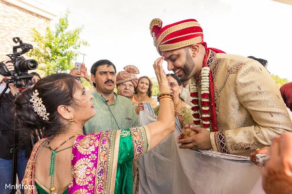 Baraat in Dallas, TX Indian Wedding by MnMfoto