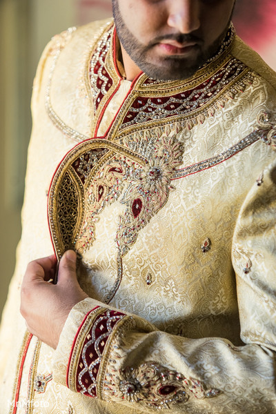 Indian groom fashion in Dallas, TX Indian Wedding by MnMfoto