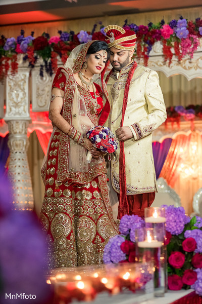 Indian wedding portrait ideas in Dallas, TX Indian Wedding by MnMfoto