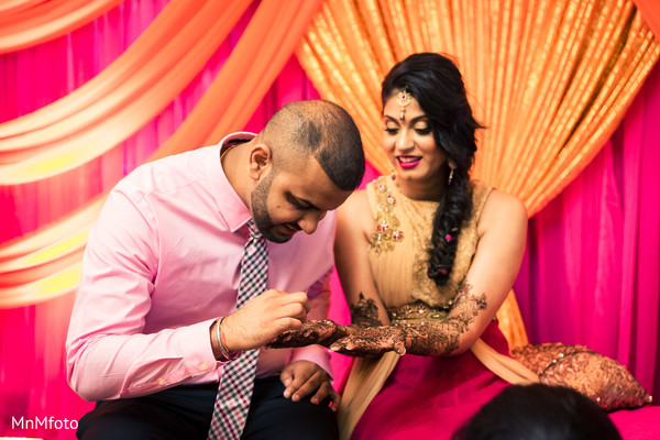 Mehndi Party in Dallas, TX Indian Wedding by MnMfoto
