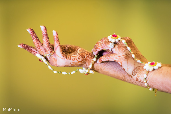 Bridal mehndi in Dallas, TX Indian Wedding by MnMfoto
