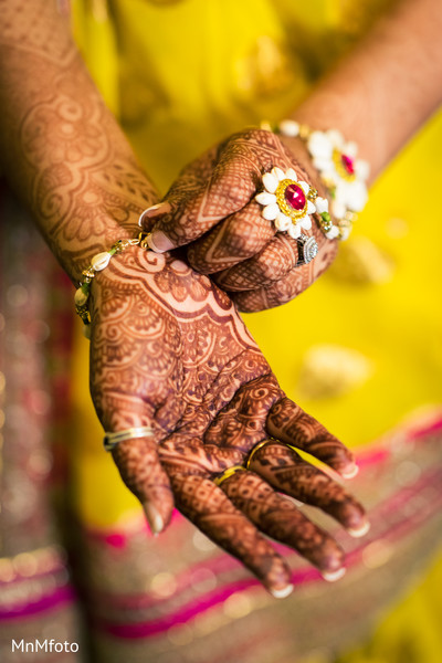Gaye holud in Dallas, TX Indian Wedding by MnMfoto