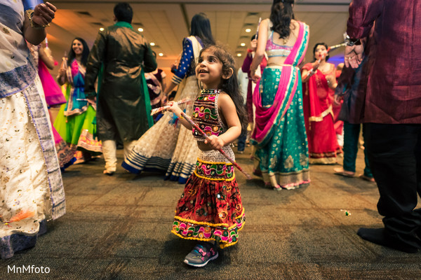 Garba in Dallas, TX Indian Wedding by MnMfoto